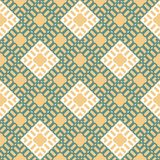Vector geometric colorful seamless pattern with squares. EPS 10 stock illustration