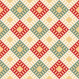 Vector geometric colorful seamless pattern with squares. EPS 10 vector illustration