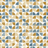 Vector geometric colorful textile abstract seamless pattern, wor Royalty Free Stock Photography