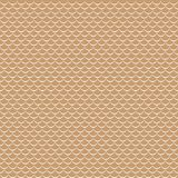 Vector geometric fish scales chinese seamless pattern. Wavy roof tile background. Geometric fish scales chinese seamless pattern. Wavy roof tile background for Royalty Free Stock Image