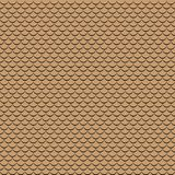 Vector geometric fish scales chinese seamless pattern. Wavy roof tile background. Geometric fish scales chinese seamless pattern. Wavy roof tile background for Royalty Free Stock Photos