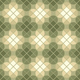 Vector geometric floral background, ornamental abstract seamless Royalty Free Stock Photography