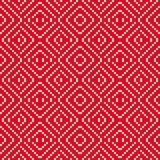 Vector geometric folk ornament. Traditional Nordic ethnic seamless pattern. Vector geometric folk ornament.  Traditional Nordic ethnic seamless pattern royalty free illustration