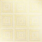 Vector geometric gold glittering seamless pattern on white background. Geometric gold glittering seamless pattern on white background Royalty Free Stock Photography