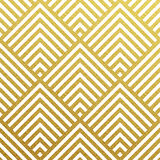 Vector geometric gold pattern Royalty Free Stock Photo