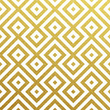 Vector geometric gold pattern Stock Photos