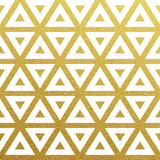 Vector geometric gold pattern Stock Images