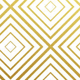 Vector geometric gold pattern Royalty Free Stock Image