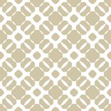 Vector geometric golden seamless pattern in oriental style. Design for decor, fabric. Vector geometric golden seamless pattern in oriental style. Beige and white Royalty Free Stock Photography