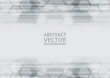 Vector geometric gray abstract background.  vector illustration