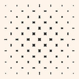 Halftone pattern with rounded squares. Stock Image