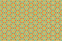 Vector Geometric Islamic Art Royalty Free Stock Photo