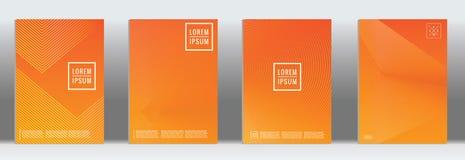 Vector geometric line pattern for poster design. vector illustration