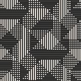 Vector geometric seamless pattern with stripes, squares, lines, Sports pattern. Vector geometric lines pattern. Abstract graphic background with stripes vector illustration