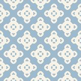 Vector geometric ornamental seamless pattern. Ornament texture in retro colors. Vector ornamental seamless pattern. Elegant geometric background with rounded vector illustration