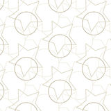 Vector geometric ,Pattern background Stock Images