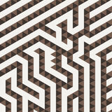Vector geometric pattern in the form of a Stock Photography