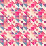 Vector geometric pattern with geometric shapes, rhombus. Stock Image