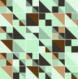 Vector geometric pattern with geometric shapes, rhombus. Stock Photo