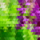 Vector geometric pattern with geometric shapes. Stock Photography
