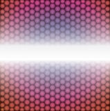 Vector geometric pattern of hexagons. Metal background. Vector geometric pattern of hexagons Stock Image