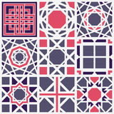 Vector Geometric Pattern Stock Images