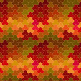 Vector geometric pattern Stock Image