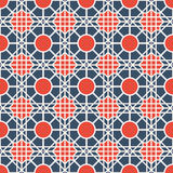 Vector Geometric Pattern. Seamless texture with geometric ornament. Vector pattern Stock Photography