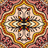 Vector geometric pattern with seamless texture. Tribal ethnic ornament Royalty Free Stock Photography