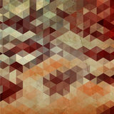 Vector geometric pattern. Stock Images