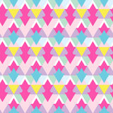 Vector geometric pattern with zigzags. Can be used in textiles, for book design, website background. Home decoration Royalty Free Stock Photography