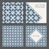 Vector Geometric Patterns Royalty Free Stock Photography
