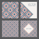 Vector Geometric Patterns Royalty Free Stock Images