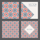Vector Geometric Patterns Stock Image