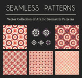 Vector Geometric Patterns Stock Images