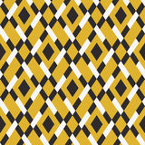 Vector geometric seamless argyle pattern royalty free illustration
