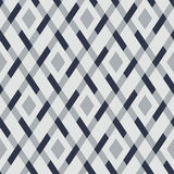 Vector geometric seamless argyle pattern Royalty Free Stock Images