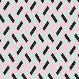 Vector geometric seamless argyle pattern Stock Photography