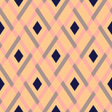 Vector geometric seamless argyle pattern Stock Images