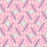 Vector geometric seamless argyle pattern Royalty Free Stock Photography