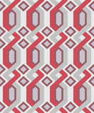 Vector geometric seamless pattern Royalty Free Stock Image