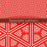Vector Geometric Seamless Pattern Stock Images