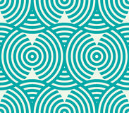 Vector geometric seamless pattern, abstract endless composition Stock Photos