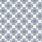Vector seamless pattern without background. Vector geometric seamless pattern without background, scalable, colorable. EPS 8 format, can be opened by latest Royalty Free Stock Photos