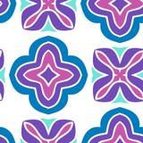 Vector geometric seamless  pattern Royalty Free Stock Photo