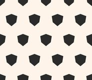 Simple vector geometric seamless pattern with diamond shapes, angular hexagons. Vector geometric seamless pattern with diamond shapes, angular hexagons. Simple stock illustration