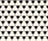 Vector geometric seamless pattern with edgy triangular shapes. Simple abstract monochrome ornament texture. Modern geometrical repeat background. Design for Royalty Free Stock Photography