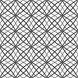 Vector geometric seamless pattern. stock illustration
