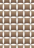 Vector geometric seamless pattern on white background stock illustration