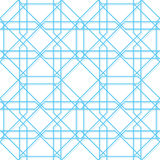 Vector geometric seamless texture Royalty Free Stock Photos